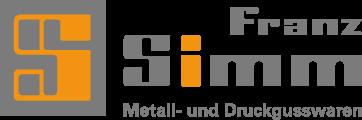 Simm Zinkdruckguss - Logo