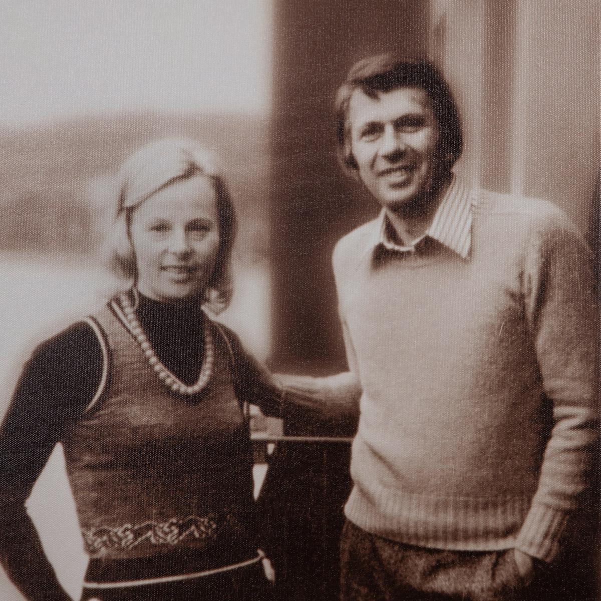 Dorothea und Franz Simm – Gründungsjahr 1955